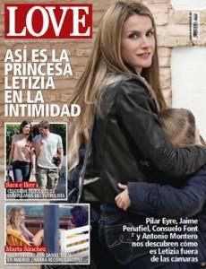 Portada de revista Love Princesa Letizia