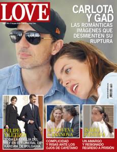 Carlota Casiraghi en la portada de la revista Love
