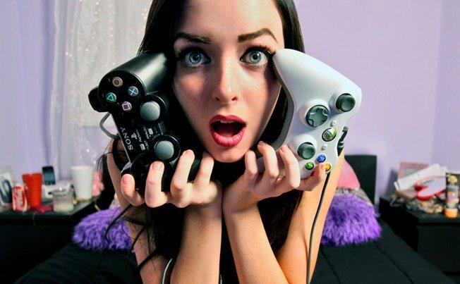 chicas videojuegos