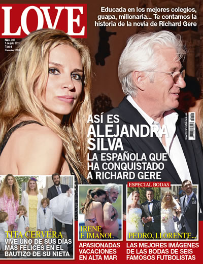 portada revista love richard gere