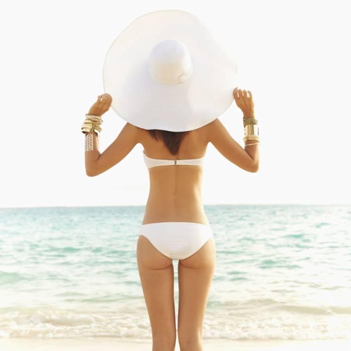 bikini mujer  cuerpo playa